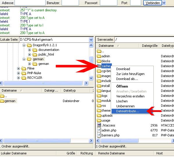 Dateiattribute
