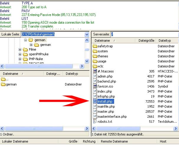 FTP Programm