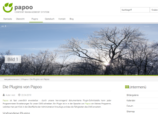 Papoo Content Management System