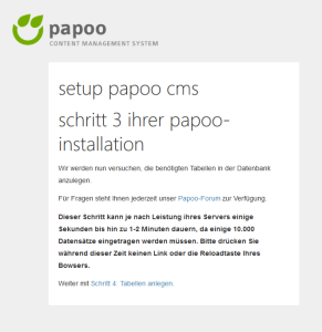 Papoo Datenbank